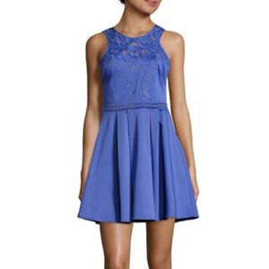 Parker Magnolia embroidery fit and flare dress
